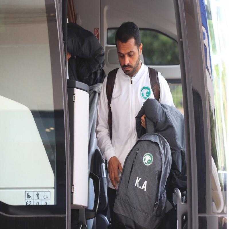 استعدادًا لمواجهة بنما.. الأخضر يصل مدينة بيدغوشتش - المواطن