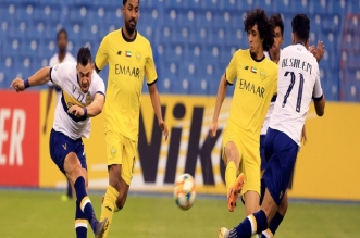جوليانو في مباراة النصر ضد الوصل