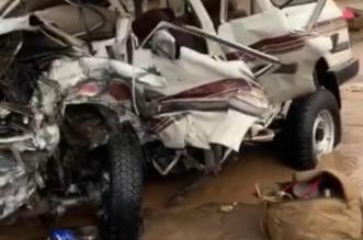 وفاة و8 إصابات في حادث تصادم مروع قبيل الإفطار على طريق كلاخ ـ السديرة - المواطن