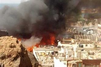 حريق مصر شرم