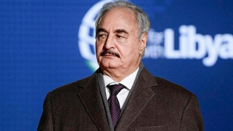 حفتر: تركيا تسعى للسيطرة على ثروات ليبيا لمعالجة أزماتها الاقتصادية