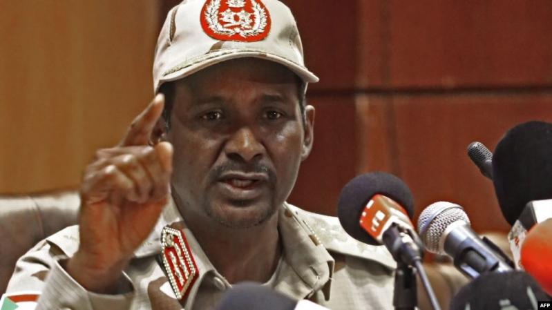 اعتقال 9 مُندسين بين قوات الدعم السريع بينهم المسؤول عن فض اعتصام السودان