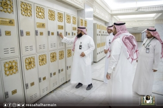 رئاسة الحرمين تستقبل طلبات أكثر من 7 آلاف معتكف عبر الموقع - المواطن