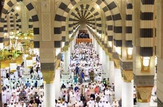 رئاسة المسجد النبوي تنهي ترتيباتها لاستقبال ما يقارب نصف مليون مصل ليلة ختم القرآن 1