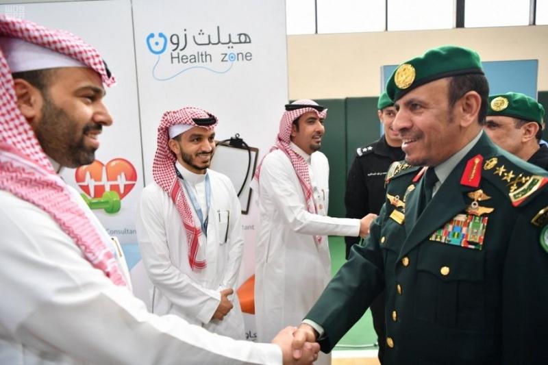 رئيس الحرس الملكي يدشن حملة للتبرع بالدم والتثقيف الصحي والتأمين الطبي1