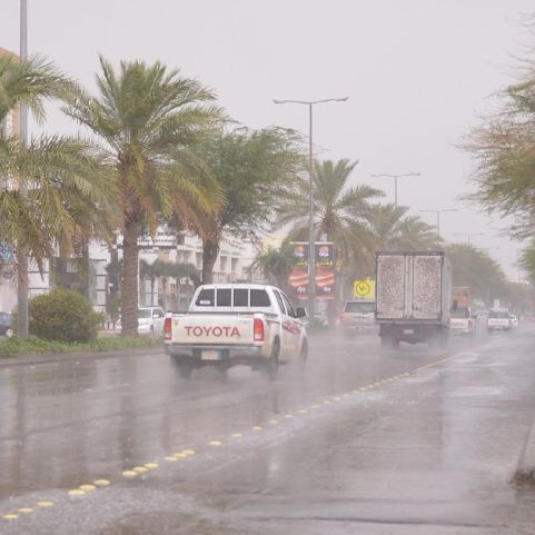 تحذير من السيول المنقولة على طريق الأفلاج – السليل