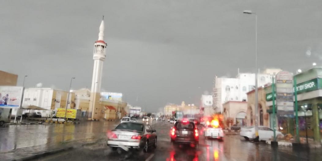 تنبيه من هطول أمطار رعدية على محافظتي الطائف وميسان