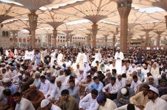 فيديو.. روحانيات وسكينة تحف الصائمين بالمسجد النبوي ليلة ختم القرآن - المواطن