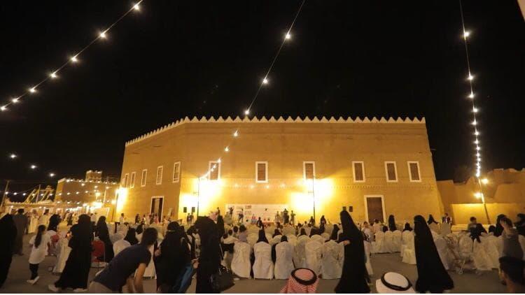 فعاليات تراثية منوعة في مهرجان الحزم بروضة سدير
