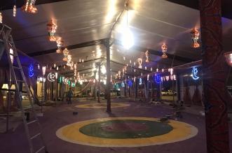 شاهد بالصور.. آخر استعدادات بلدية محايل لشهر رمضان - المواطن