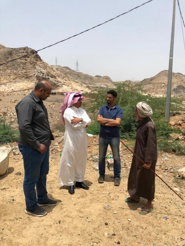 صور ..العاصمي يتفقد مشروع الإسكان والمستشفى العام في محايل - المواطن