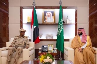 ولي العهد يلتقي نائب رئيس المجلس الانتقالي السوداني - المواطن