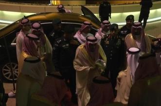 شاهد بالصور والفيديو .. الملك سلمان يصل إلى استاد الملك فهد الدولي - المواطن