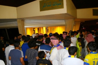 صور .. النصراويون يتوافدون على ملعب الملك فهد لمؤازرة العالمي - المواطن