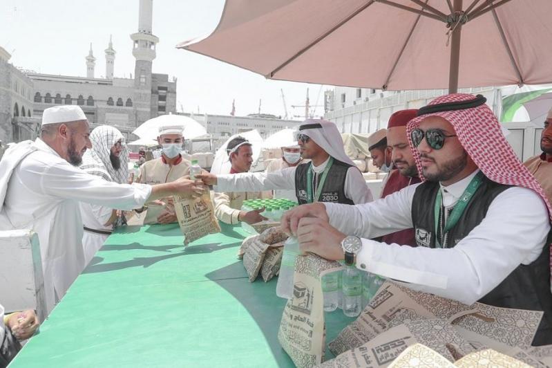 700 ألف استفادوا من خدمات رئاسة الحرمين في رمضان