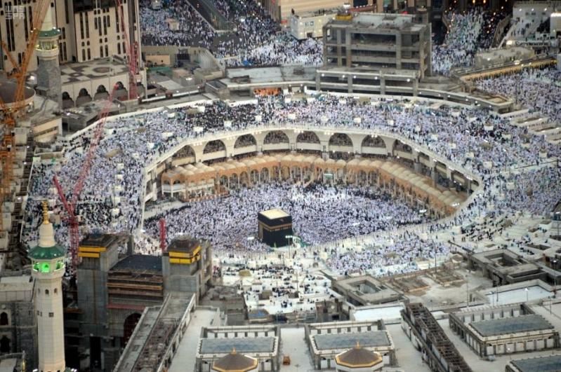 تهيئة القوى العاملة بالمسجد الحرام لموسم الحج