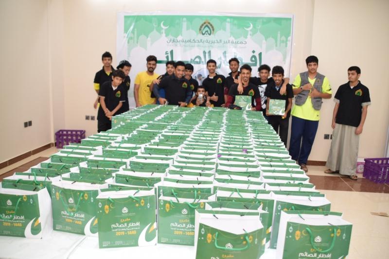بر الحكامية توزع أكثر من 1500 وجبة إفطار يوميًا - المواطن