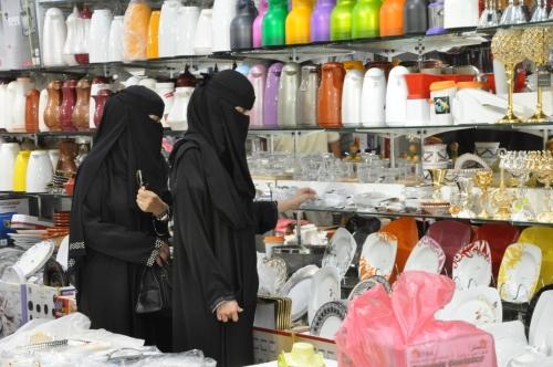 انتعاش مبيعات الأواني والمواد الغذائية بجازان قبل رمضان