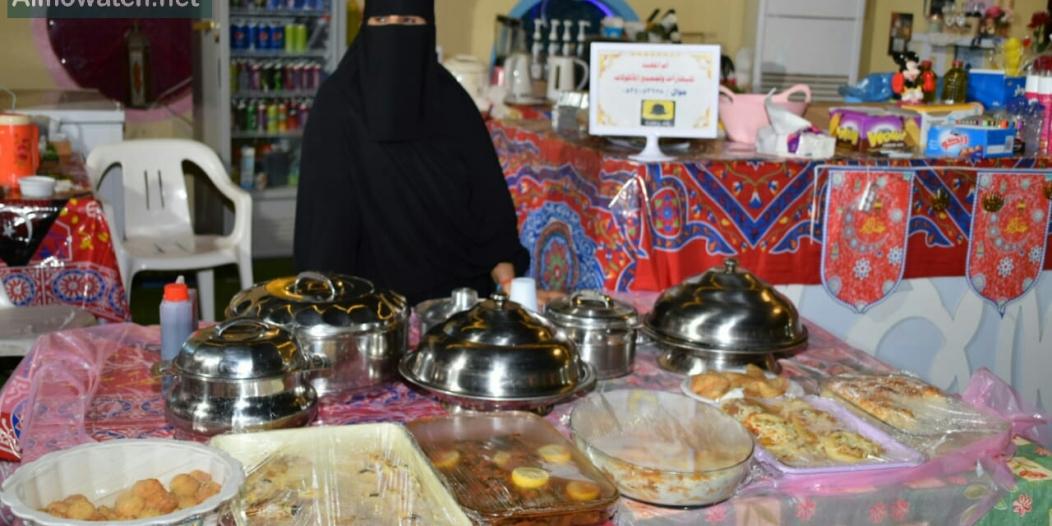 صور.. أكلات شعبية بأيدي سعوديات في صامطة