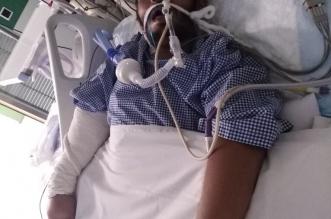 حديش يناشد علاج ابنه بعد تعرضه لخطأ طبي أدخله في غيبوبة بعسير - المواطن