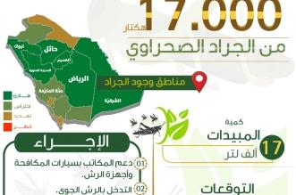 البيئة: نكافح الجراد في مساحة 17 ألف هكتار وأسراب جديدة قادمة - المواطن