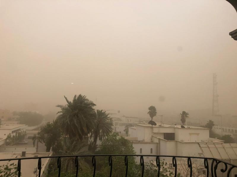 الهلال الأحمر يحذر الجميع من موجة الغبار في جدة