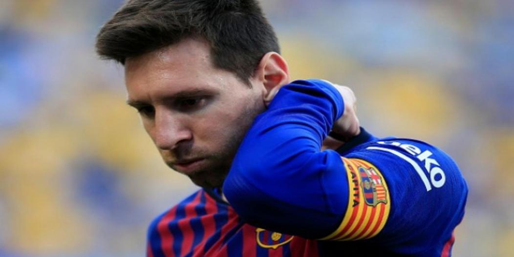 رباعية ليفربول تؤلم ميسي في مباراة برشلونة ضد خيتافي