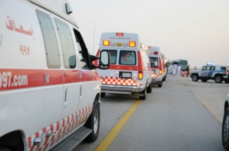 وفاة وإصابة 4 أشخاص في تصادم مروع على طريق بيشة - المواطن
