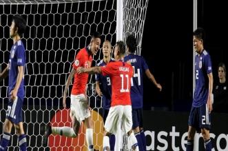مباراة اليابان وتشيلي تُحطم آمال الساموراي الأولمبية - المواطن