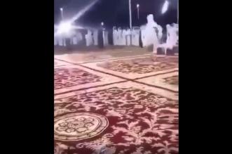 فيديو.. أطلق النار بحفل زواج في نجران فطرده والد العريس - المواطن
