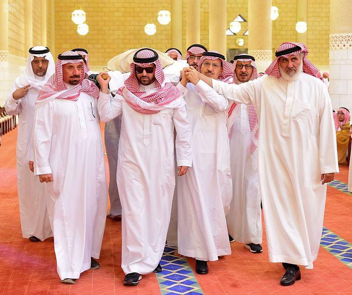 جموع غفيرة تشيع الأمير محمد بن متعب بن عبدالله