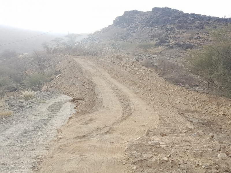 طريق غليلة الباحة2