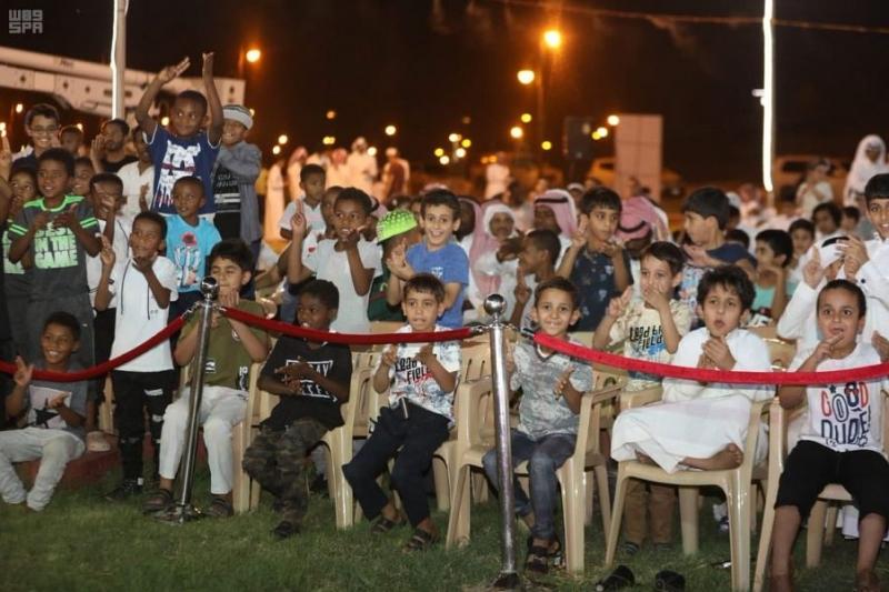 ألعاب هوائية وتفاعلية ضمن فعاليات عيد الفطر في الدوادمي - المواطن