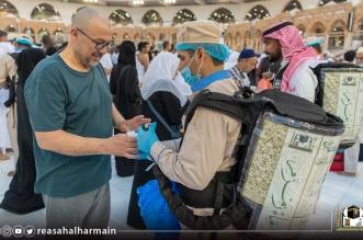 قاصدو بيت الله الحرام يستهلكون قرابة 3 ملايين لتر من مياه زمزم ليلة 27 رمضان - المواطن
