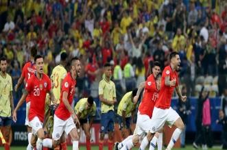 كولومبيا ضد تشيلي .. رقم لا روخا القياسي وتقنية الفيديو الأبرز - المواطن