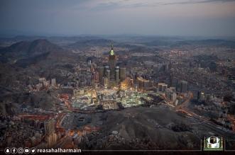 لقطات جوية تصور الكثافة البشرية بالمسجد الحرام في ليلة ختم القرآن - المواطن