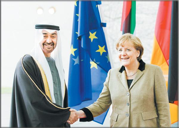 الإمارات وألمانيا تدعوان إيران للقيام بدور إيجابي وعدم التدخل في شؤون المنطقة