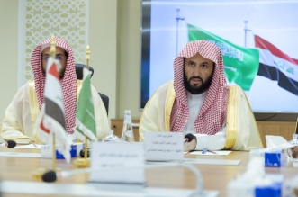 الصمعاني يبحث تعزيز التعاون مع رئيس مجلس القضاء العراقي - المواطن