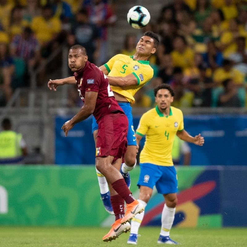 منتخب البرازيل يكتفي بتسديدة واحدة ضد فنزويلا - المواطن