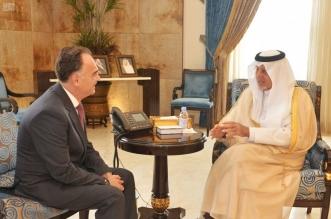 الفيصل يناقش تعزيز العمل المشترك مع القنصل الأردني - المواطن