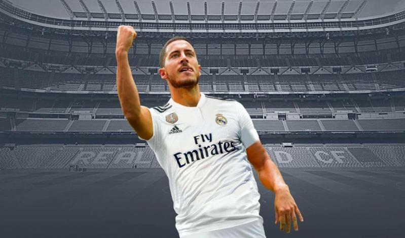 رسميًا .. ريال مدريد يُعلن تعاقده مع هازارد حتى صيف 2024