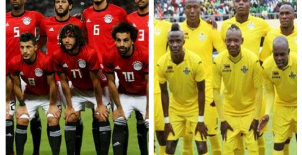 موعد مباراة مصر وزيمبابوي