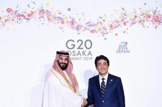 ولي العهد يُغادر اليابان ويبعث برقية شكر لرئيس الوزراء شينزو آبي - المواطن