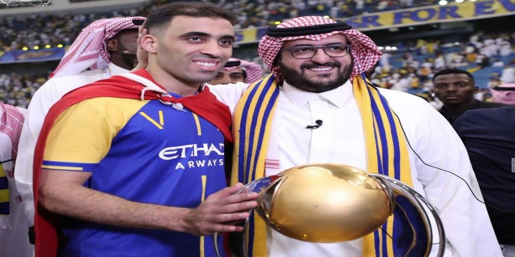 تغريدة مثيرة وضعت النصر في أجمل فتراته مع سعود السويلم