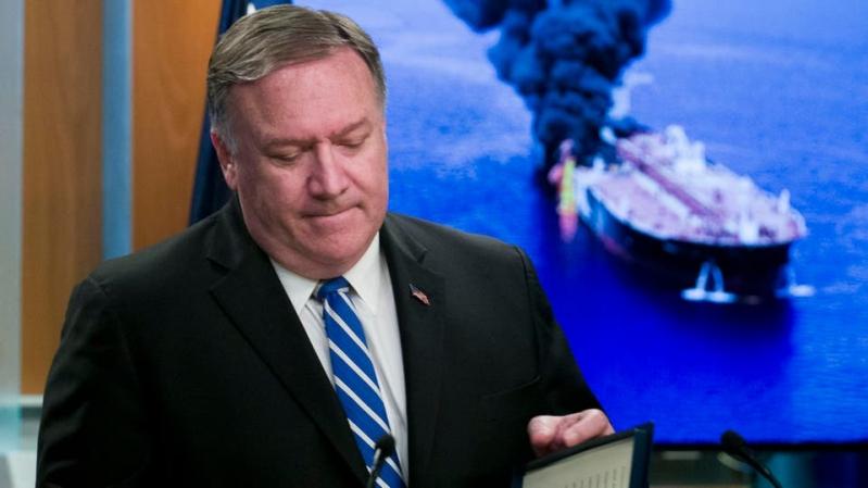 بومبيو يحذر من انتهاء حظر الأسلحة على إيران