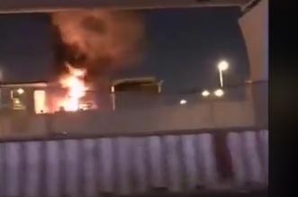 حريق جزئي في محطة تحويل الكهرباء بحي النفل بالرياض - المواطن