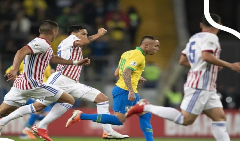 ركلات الترجيح تصعد بالسيليساو في مباراة البرازيل ضد باراجواي