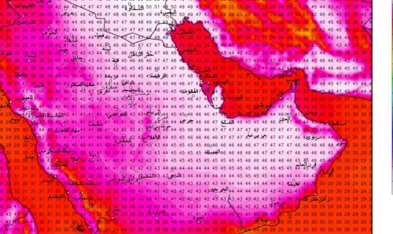 كراني: كتلة حارة تتجه شرقاً تبلغ مداها الأحد