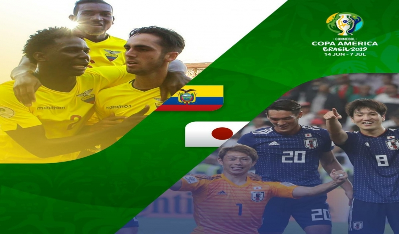 اليابان تتعادل مع الإكوادور وتُودّع كوبا أمريكا 2019
