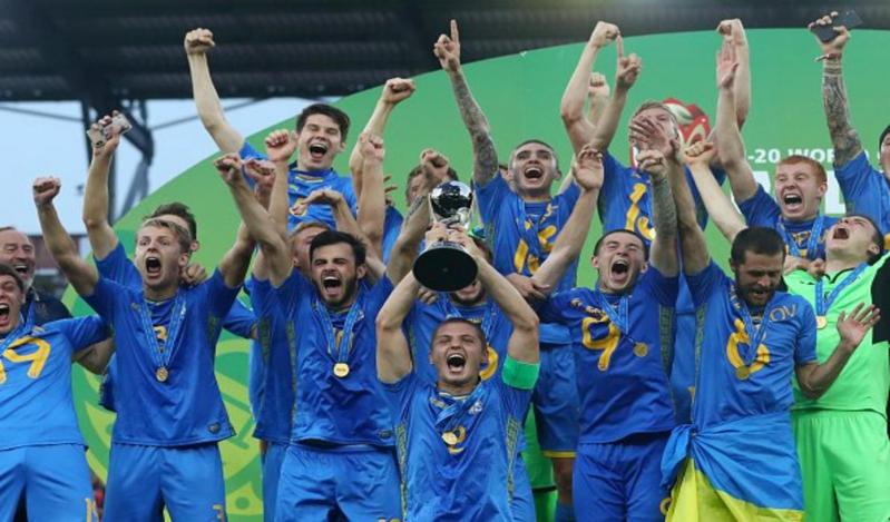 أوكرانيا بطلة لـ كأس العالم تحت 20 عامًا